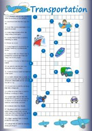 Crossword: Transport