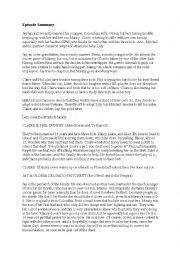 English Worksheet: Modern Family (US TV show), season 1, pilot episode