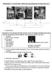 English Worksheet: MYSTERY FICTION