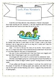 Loch Ness Monster´s Story