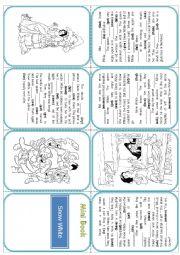 mini book Snow White