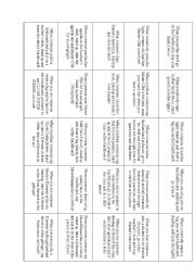 English Worksheet: Read and Do Icebreaker