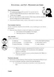 Making Worksheet Tips