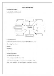 English Worksheet: Exploring A song:  Immortality by Celine Dion