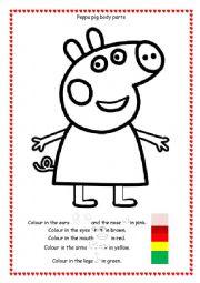 Worksheet: Peppa's Christmas Episode