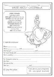 English Worksheet: GUIDED WRITING - 3/6