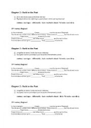 English Worksheet: Victorian Times : Introduction ( exercise )