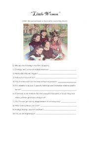 Little Women Film Worksheet