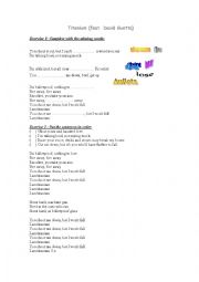 English Worksheet: Titanium David Guetta