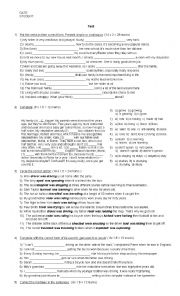 English Worksheet: Mock exam FCE