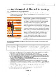 English Worksheet: Teen Pregnancy Project