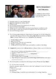 NOTTING HILL MOVIE TEST
