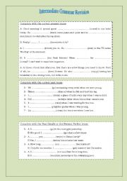 Intermediate Grammar Revision
