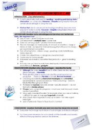English Worksheet: Writing. email