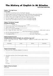 English Worksheet: Videos