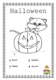 halloween activity for young learners