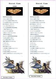 English Worksheet: eternal flame by bangles
