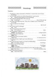 English Worksheet: Paraphrase