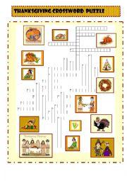 Thanksgiving:  crosswords
