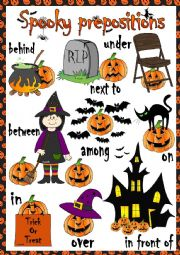 Spooky prepositions (of place)
