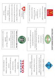 English Worksheet: Job ads