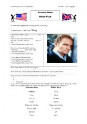 English Worksheet: introductory unit : first impressions