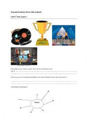 English Worksheet: 1st year  lesson 3 Queen of Soul