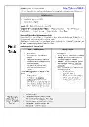 English Worksheet: lesson plan A2 B1 - i�m a journalist/biographer, i�m writing an obituary/an article about a famous dead person