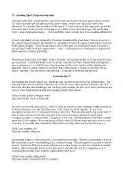English Worksheet: C1 Listenings/ Interactives