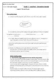 English Worksheet: Brain Drain ( part 1)