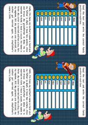 English Worksheet: Family game