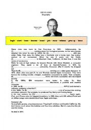 Steve Jobs (Gapped Biography)