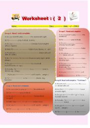 English Worksheet: Differentiated activities about expressing preferences