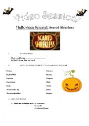 Halloween Special Scared Shrekless