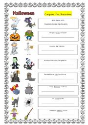 Halloween and comparisons