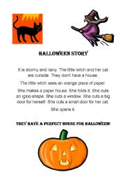Halloween paper story