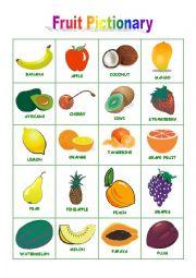 Fruit Pictionary