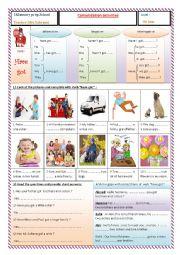 English Worksheet: verb : have got