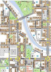 English Worksheet: city map 1