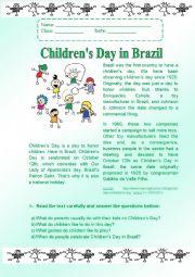 Children´s day in Brazil.