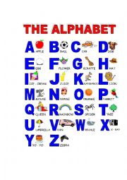 The alphabeth