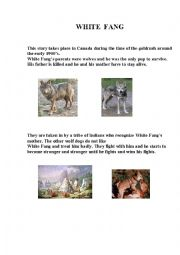 English worksheets: White Fang