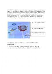 English Worksheet: prediction game