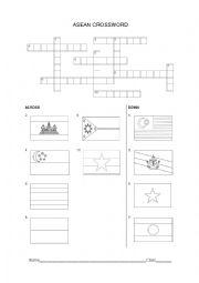 English Worksheet: asean