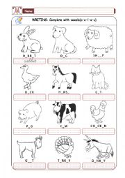 Domestic Animals - Part 02