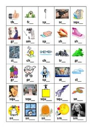 Diagraphs and Triagraphs Flashcard set 3