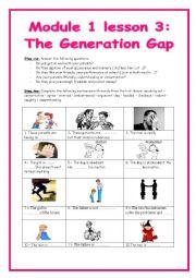 9th form module 1 lesson 3 the generation gap (part 1)