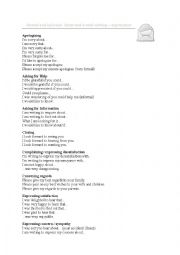 English Worksheet: E - mail writing formal and informal