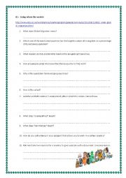 English Worksheet: Global Migration