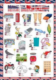 British/American English Picture Dictionary#2